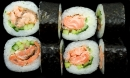 Fried salmon roll