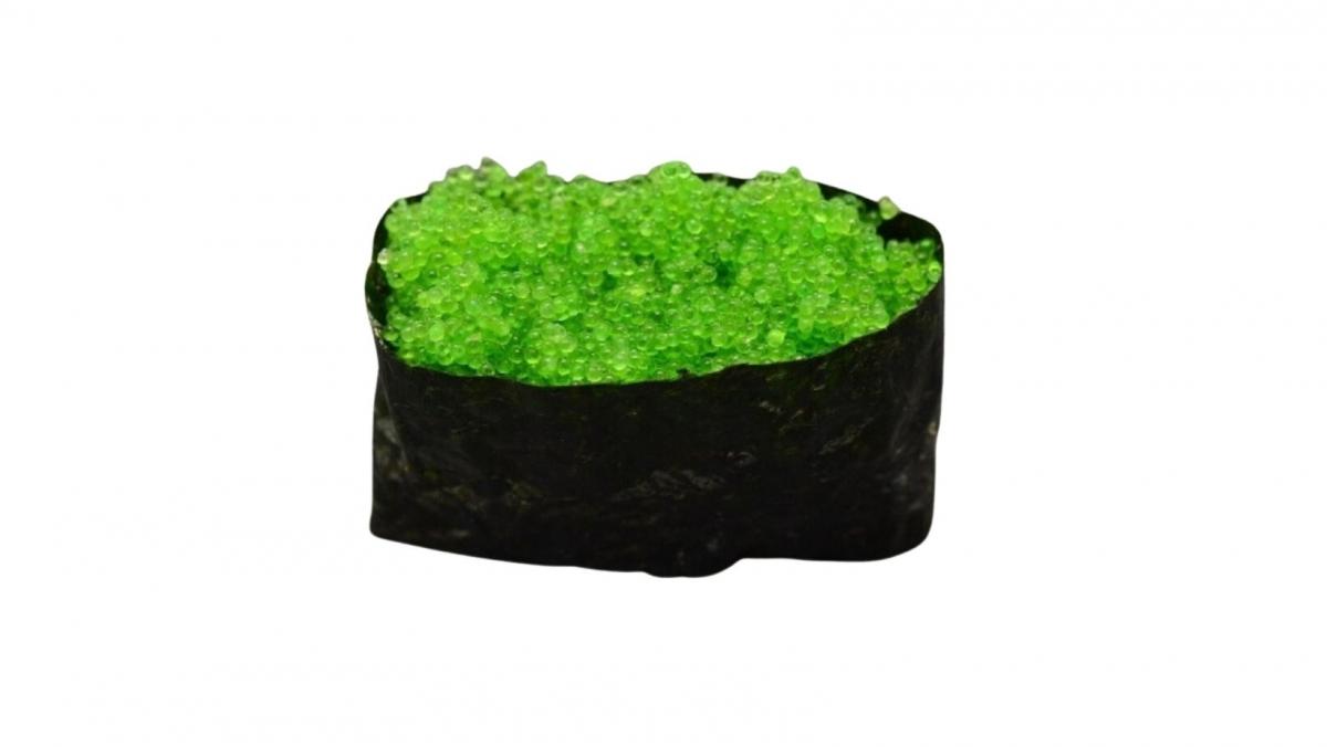 Tobiko Green - kaviár z létajících ryb-zelený